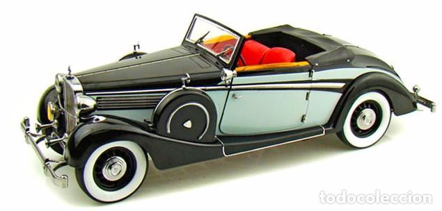 Coches a escala: Maybach SW38 Cabriolet 2 Doors 1937 escala 1/18 de Signature Models - Foto 3 - 101300367