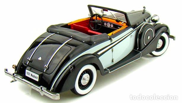 Coches a escala: Maybach SW38 Cabriolet 2 Doors 1937 escala 1/18 de Signature Models - Foto 4 - 101300367