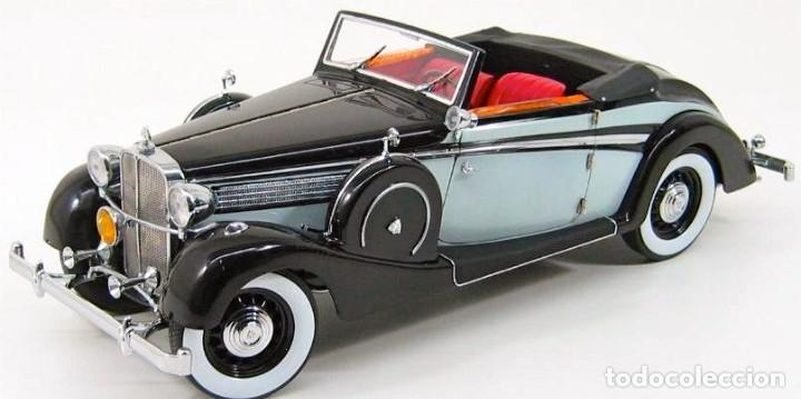 Coches a escala: Maybach SW38 Cabriolet 2 Doors 1937 escala 1/18 de Signature Models - Foto 5 - 101300367