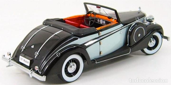 Coches a escala: Maybach SW38 Cabriolet 2 Doors 1937 escala 1/18 de Signature Models - Foto 6 - 101300367