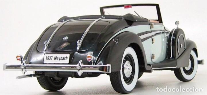 Coches a escala: Maybach SW38 Cabriolet 2 Doors 1937 escala 1/18 de Signature Models - Foto 8 - 101300367