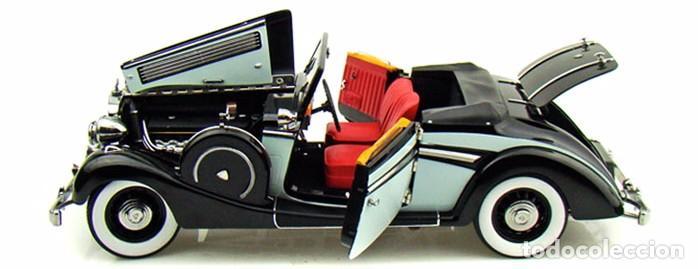 Coches a escala: Maybach SW38 Cabriolet 2 Doors 1937 escala 1/18 de Signature Models - Foto 12 - 101300367