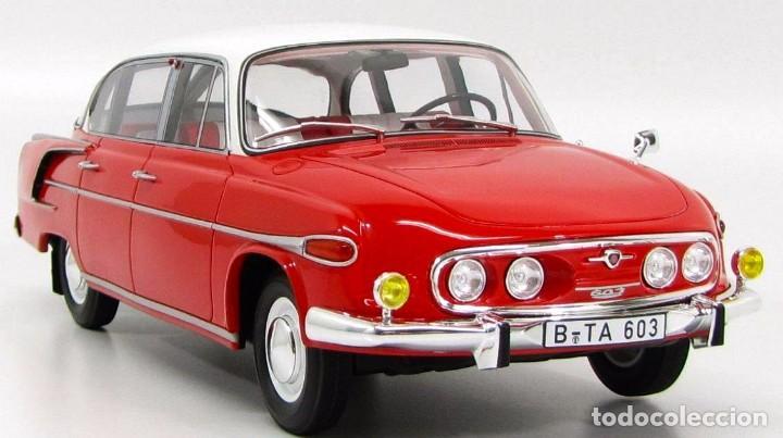 Coches a escala: Tatra 603 1969 escala 1/18 de BoS Models - Foto 3 - 193963783