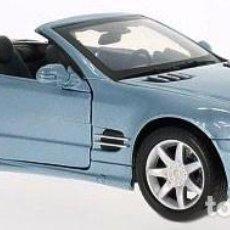 Coches a escala: MERCEDES SL 500 (R 230) 2002 ESCALA 1/18 DE MOTORMAX. Lote 101386551