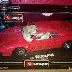 Coches a escala: FERRARI GTO 1984 ED. ESPEC. 1/18 DE BURAGO. Lote 102458767
