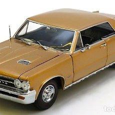 Coches a escala: PONTIAC GTO 1965 ESCALA 1/18 DE SUN STAR. Lote 107434771