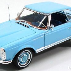 Coches a escala: MERCEDES 230 SL ( W 113) HARD TOP 1963 ESCALA 1/18 DE NOREV. Lote 109261927