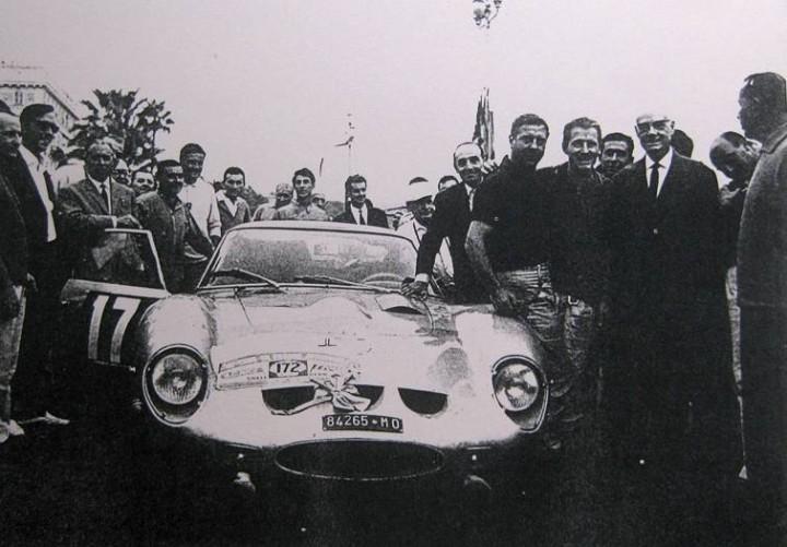Coches a escala: Ferrari 250 GTO RALLYE Tour de France del 1964 1:18 de burago tal y como se ve sin caja - Foto 3 - 50925058