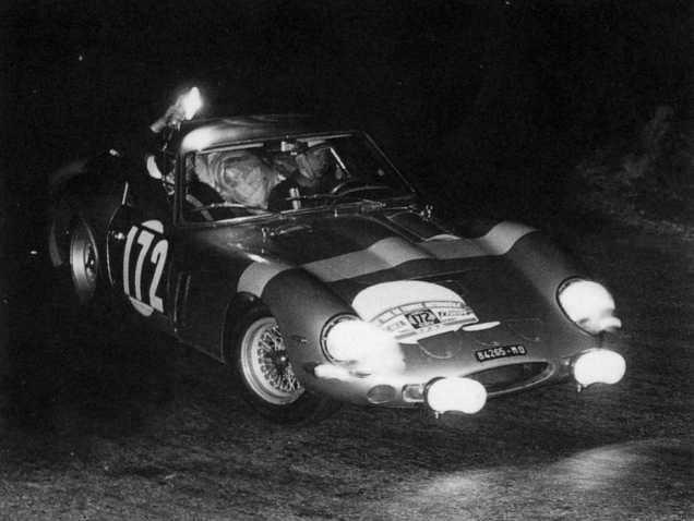 Coches a escala: Ferrari 250 GTO RALLYE Tour de France del 1964 1:18 de burago tal y como se ve sin caja - Foto 4 - 50925058