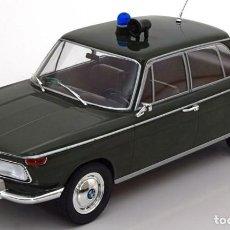 Coches a escala: BMW 2000 TI TYPE 120 POLICÍA ESCALA 1/18 DE MCG. Lote 110850159