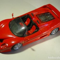 Coches a escala: FERRARI F-50 MAISTO SHELL. MADE IN THAILAND. IMPECABLE.. Lote 110962719