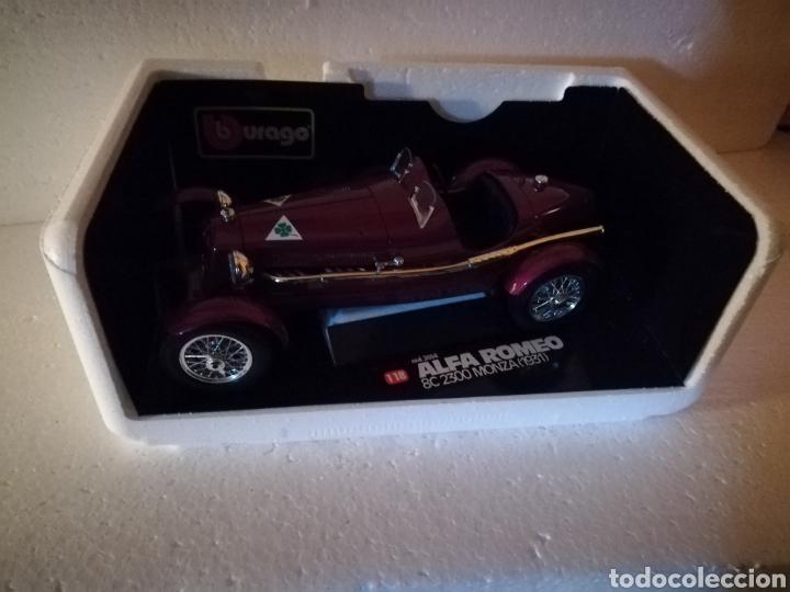 Coches a escala: Coche coleccion Alfa Romeo Monza 1931 de la casa burago - Foto 6 - 112021346
