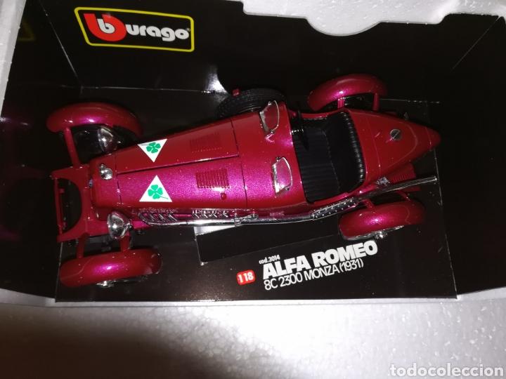 Coches a escala: Coche coleccion Alfa Romeo Monza 1931 de la casa burago - Foto 7 - 112021346