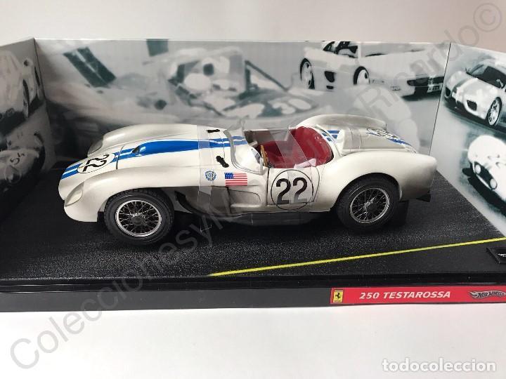 Coches a escala: Ferrari 250 Testarossa (1958) 24H Le Mans - 1:18 coche , competición , clásico , carreras , - Foto 3 - 115199935