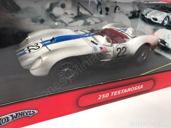 Coches a escala: Ferrari 250 Testarossa (1958) 24H Le Mans - 1:18 coche , competición , clásico , carreras , - Foto 6 - 115199935
