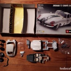 Coches a escala: JAGUAR E COUPÉ 1961 - ESCALA 1/18 - METALKIT - BURAGO - COD. 7018. Lote 116108559