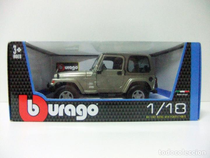 jeep wrangler sahara - burago bburago escala 1: - kaufen modellautos
