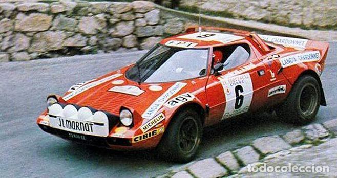 lancia stratos hf rally tour de corse,1975 (1:1 - kaufen modellautos