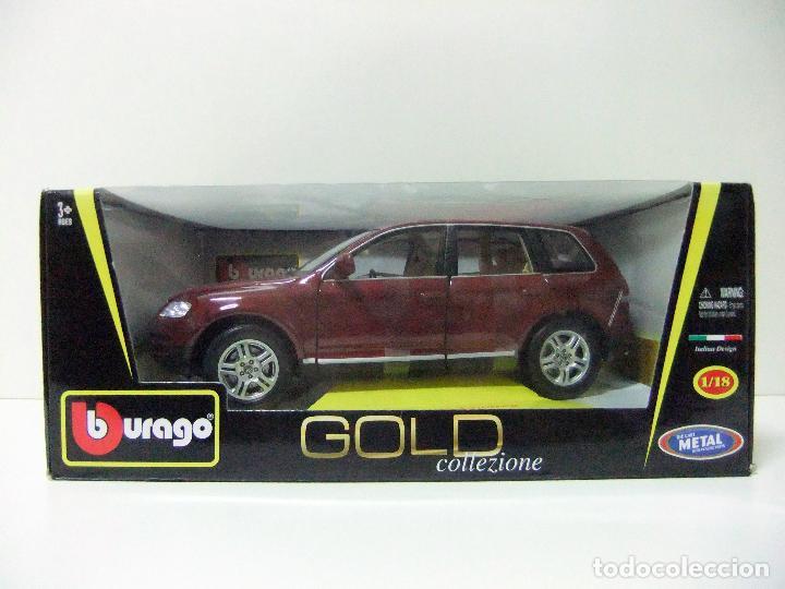 Collezione Escala Volkswagen Burago Gold Vw Bburago Touareg Die Miniatura Metal 1 18 Cast Coche J3luTFK1c