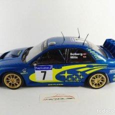Coches a escala: SUBARU IMPREZA WRC 2003 PETER SOLBERG ALTAYA ESCALA 1:43. Lote 121770791