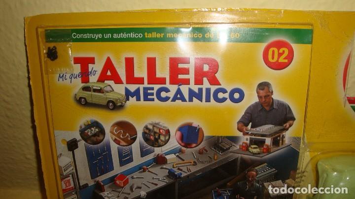 Coches a escala: CARROCERÍA SEAT 600 D COLECCION - MI QUERIDO TALLER MECANICO - SOLIDO SALVAT ESCALA 1/18 - Foto 3 - 122973007