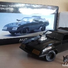 Coches a escala: AUTOART FORD FALCON XB 1973 V8 INTERCEPTOR 1:18 DIE CAST MAD MAX 2 THE ROAD WARRIOR. Lote 124285779