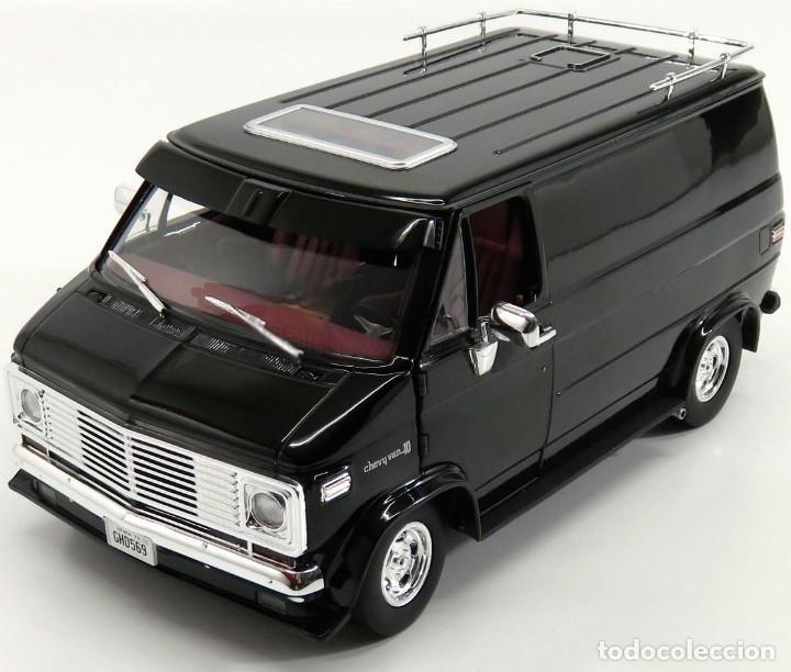 Chevrolet G-Series Van 1976 escala 1/18 de Highway 61