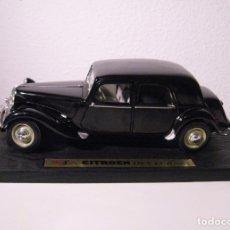 Carros em escala: CITROEN 15CV 1952 ESCALA 1/18 DE MAISTO - SIN CAJA -. Lote 56254510
