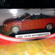 Coches a escala: MONDO MOTORS - PLATINUN COLLECTION 2004 AUDI A4 CABRIOLET 1/18. Lote 133868558