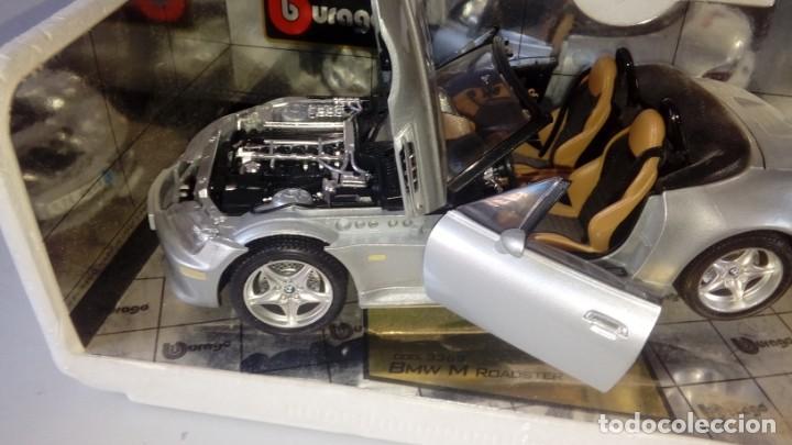 Coches a escala: BBurago Gold - BMW M Roadster Convertible (1996, modelo a escala 1/18, automóvil de fundición a pres - Foto 2 - 134092070