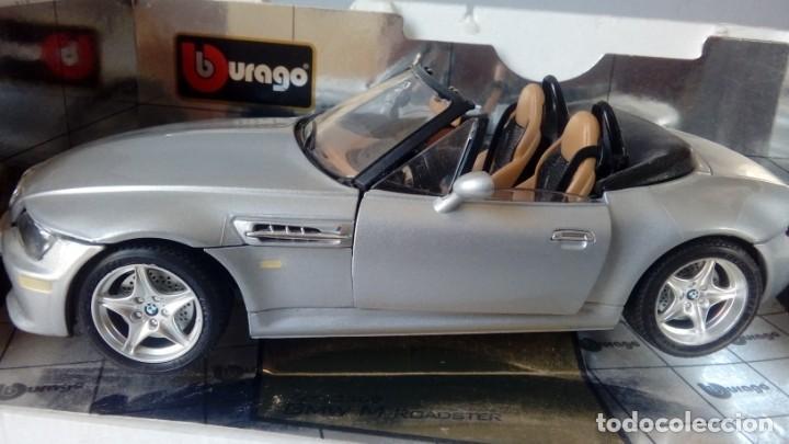 Coches a escala: BBurago Gold - BMW M Roadster Convertible (1996, modelo a escala 1/18, automóvil de fundición a pres - Foto 3 - 134092070