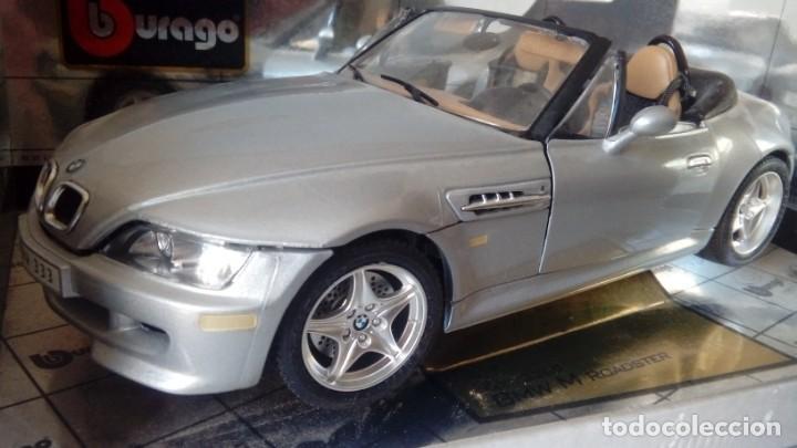 Coches a escala: BBurago Gold - BMW M Roadster Convertible (1996, modelo a escala 1/18, automóvil de fundición a pres - Foto 4 - 134092070