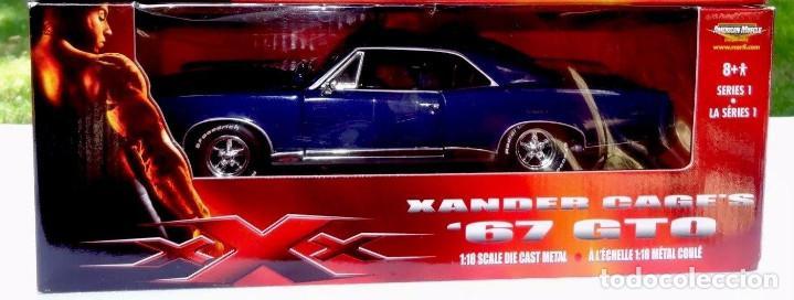 Pontiac GTO 67 no gadgets series 1 Xander Cage XXX 1:18 Ertl segunda mano