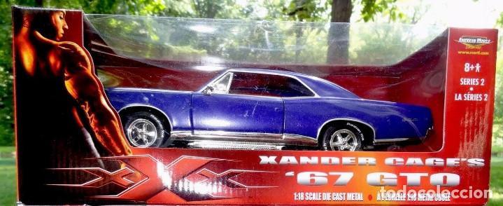 Pontiac GTO 67 with gadgets series 2 Xander Cage XXX 1:18 Ertl very rare MIB segunda mano