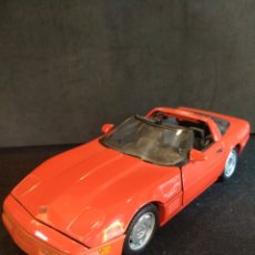 Coches a escala: MAISTO CORVETTE ZR-1 1992, ESCALA 1/18. Lote 137117476