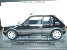 Peugeot 205 GTi 1.9 1988 Schwarz black 1:18 Norev