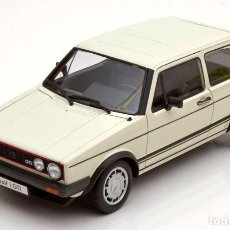 Coches a escala: VOLKSWAGEN GOLF I GTI 1982 ESCALA 1/18 DE WELLY. Lote 156898861