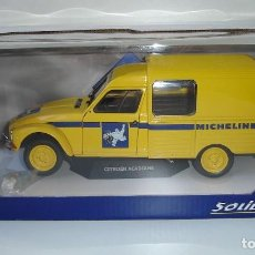 Coches a escala: FURGONETA CITROEN ACADIANE MICHELIN SOLIDO ESCALA 1:18. Lote 145326302