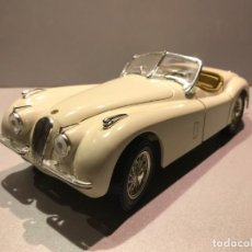Coches a escala: JAGUAR XK 120 ( 1948 ) - ERTL MODEL - ESCALA 1:18 - 21 FOTOS. Lote 146150202