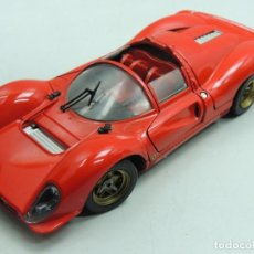 Coches a escala: COCHE FERRARI 330 P4 ESCALA 1/18 ,JOUEF EVOLUTION. Lote 147179150