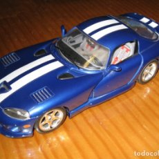 Coches a escala: BURAGO 1:18 DODGE VIPER GTS COUPE MADE IN ITALY . Lote 147216814