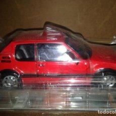Carros em escala: COCHE ESCALA 1:18 PEUGEOT 205 GTI 1990 SOLIDO SALVAT. NUEVO EN BLISTER ORIGINAL. Lote 148059366