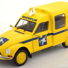 Coches a escala: CITROEN ACADIANE MICHELIN 1984 ESCALA 1/18 DE SOLIDO. Lote 148089502