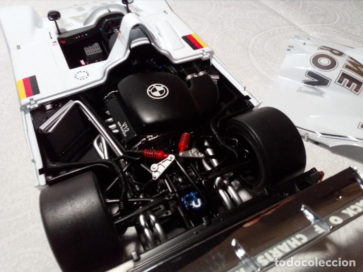 Coches a escala: COCHE BMW V12 LMR. ART CARS. DE KYOSHO AÑO 2000 1/18 (IMPECABLE) EDICIÓN LIMITADA Jenny Holzer - Foto 24 - 148860974