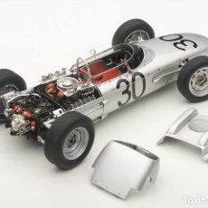 Coches a escala: PORSCHE 804 #30 D. GURNEY F1 WINNER GP FRANCIA 1962 1:18 AUTOART. Lote 149295158