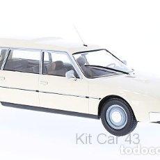 Coches a escala: CITROËN CX 2500D SUPER BREAK SERIE I 1976 (BEIGE) 1:18 MODEL CAR GROUP. Lote 152278682