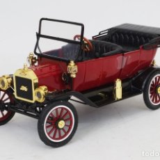 Coches a escala: FORD MODEL T ROADSTER 1917 (ROJO OSCURO) 1:18 MOTORCITY. Lote 152278686