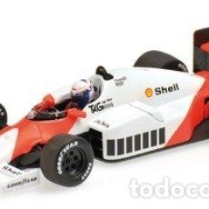 Coches a escala: MCLAREN TAG MP4/2C #1 A. PROST F1 WORLD CHAMPION 1986 1:18 MINICHAMPS. Lote 152279006