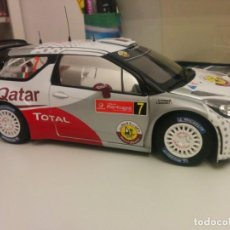 Coches a escala: CITROEN DS3 WRC AL ATTIYAH NOREV 1:18. Lote 156680918