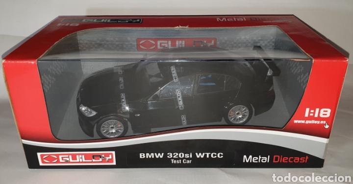 1:18 BMW 320SI WTCC TEST CAR-NEGRO- GUILOY (Juguetes - Coches a Escala 1:18)